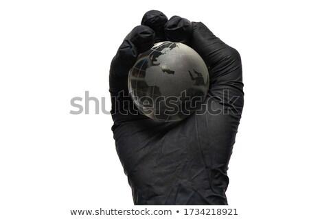 стороны перчатка мира человека путешествия Сток-фото © pterwort