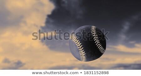 бейсбольной воздуха стадион фары весны весело Сток-фото © kornienko