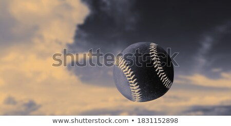 beisebol · jogador · de · beisebol · balançar · primavera · diversão - foto stock © kornienko