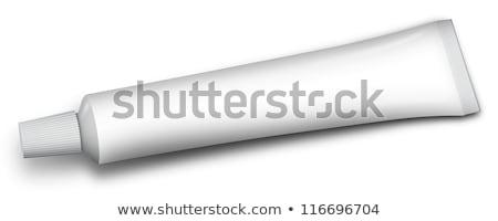 трубка зубная паста другой иллюстрация здоровья белый Сток-фото © perysty