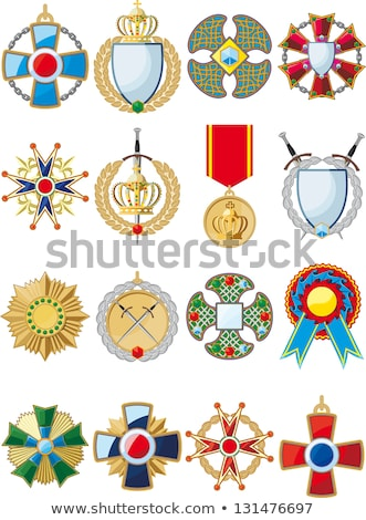 Military crosses in rows Stock photo © Gbuglok