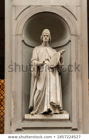 the Niches of the Uffizi Colonnade, Florence. Stock photo © wjarek