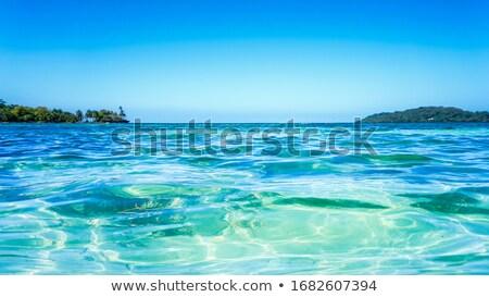 Stok fotoğraf: Güzel · tropikal · okyanus · mavi · su