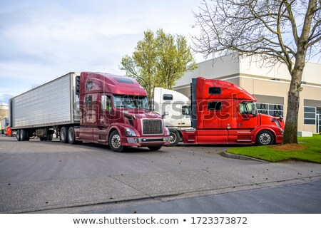 Big Rig Trucks at the Dock Stock photo © 805promo