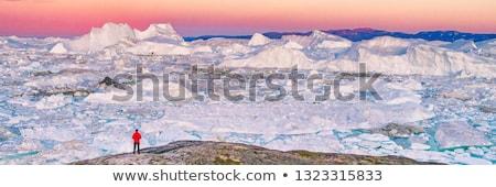 panorama · primavera · tempo · neve · montanha · viajar - foto stock © mady70