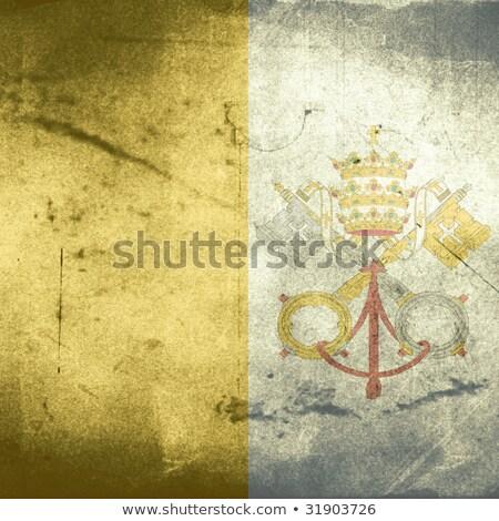 флаг Ватикан письма знак религии Сток-фото © michaklootwijk