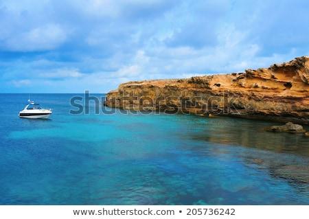 Punta de Sa Pedrera coast in Formentera, Balearic Islands, Spain Stock photo © nito