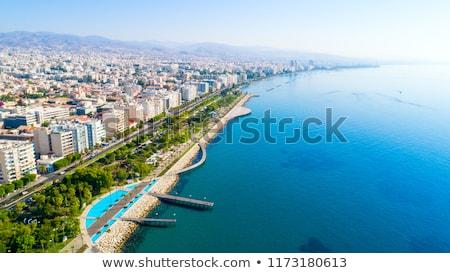 Limassol city aerial view Stock photo © Kirill_M