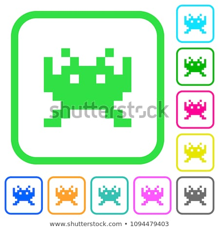 attack of space invaders Stock photo © mayboro