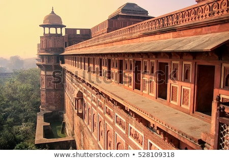 Palace at Agra Fort stock photo © faabi