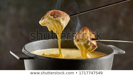 akşam · yemeği · ekmek · peynir · kış · kültür - stok fotoğraf © m-studio