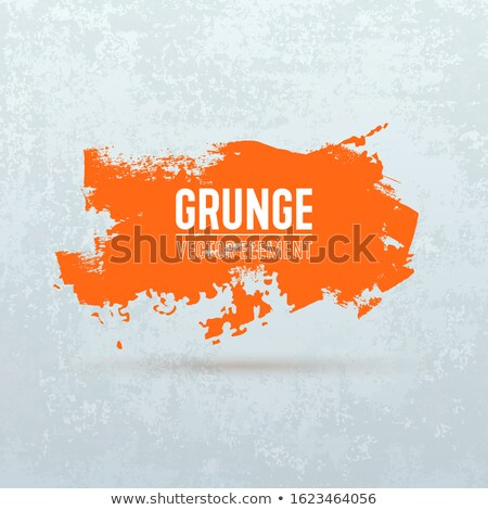 Abstract orange spots background with place for your text Stock photo © orson
