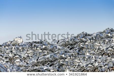 銀 金属 リサイクル マクロ ストックフォト © shanemaritch