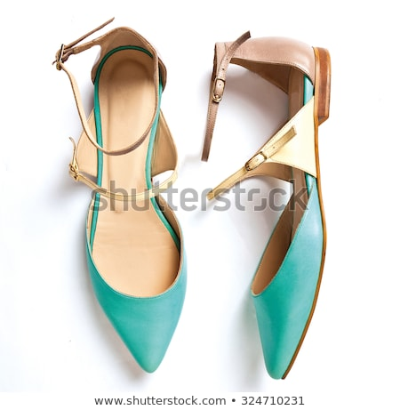 обувь изолированный белый моде фон цвета Сток-фото © Elnur