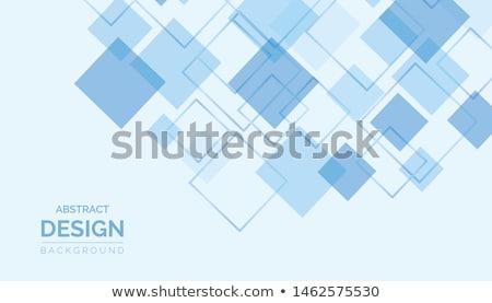 Glowing Squared Pattern Stock photo © derocz