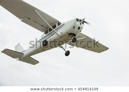 small light airplane isolated Stock photo © goce