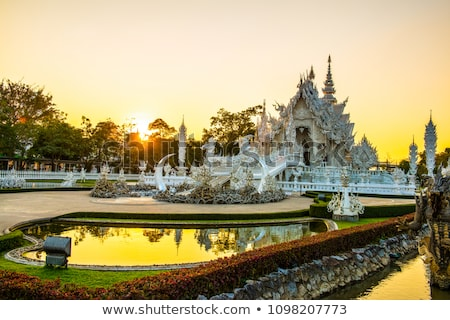 Wat Rong Khun. Stock photo © scenery1