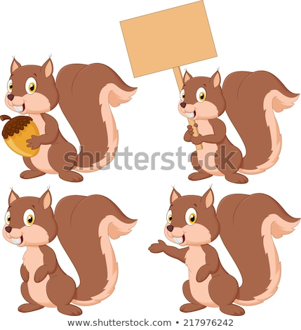 Squirrel Sign Stock photo © Lightsource