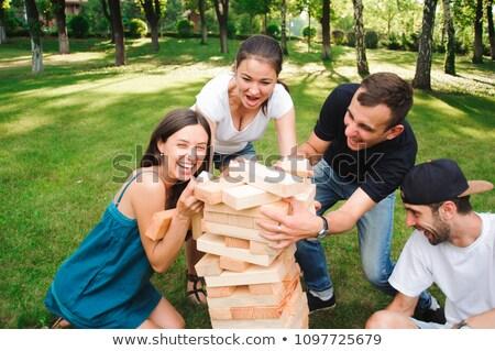 Outdoor game stock photo © pressmaster