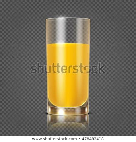 juice in goblet Stock photo © 26kot