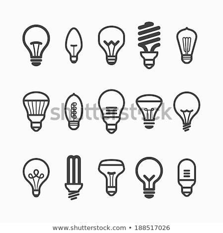 közelkép · energia · hatékony · villanykörte · zöld · elektromosság - stock fotó © janaka