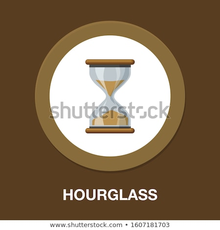 vector sandglass illustration stock photo © mr_vector