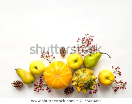 decorative vegetables background with place for text stock photo © elenapro