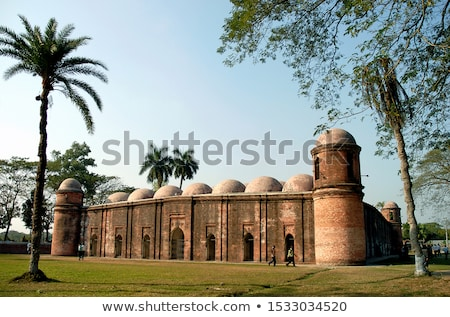 купол мечети ночь замечательный свет дома Сток-фото © AchimHB
