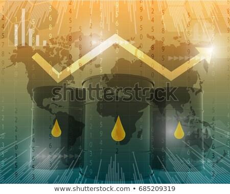 газ · цены · вверх · вниз · слово · оказанный - Сток-фото © ottawaweb