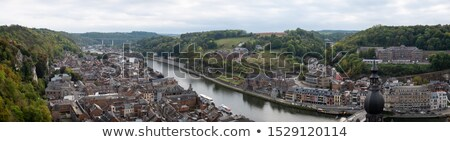 River Meuse, Dinant Stock photo © smartin69