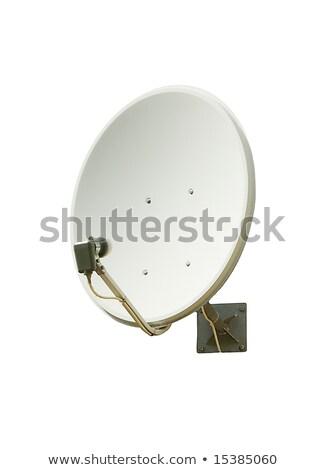 Satellite piatto internet metal spazio rete Foto d'archivio © jarin13
