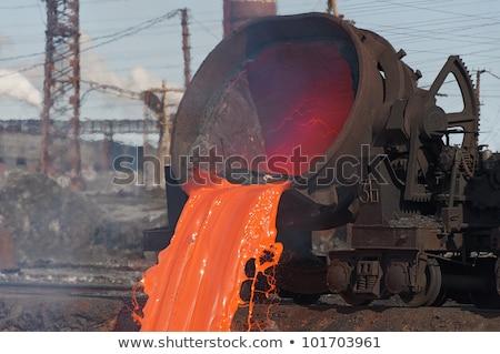 Molten steel bucket  Stock photo © mady70