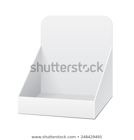 exibir · caixa · vetor · projeto · arte · abstrato - foto stock © Pinnacleanimates