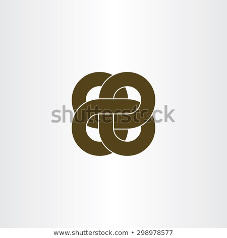impossible rope node infinity symbol Stock photo © blaskorizov