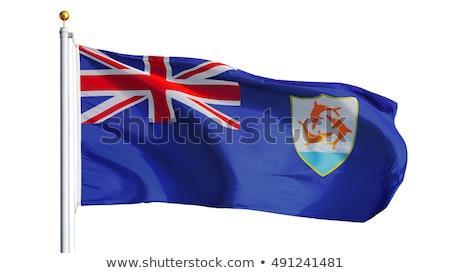 Regno Unito bandiere puzzle isolato bianco squadra Foto d'archivio © Istanbul2009