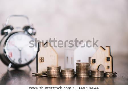 Tempo vender texto relógio negócio dinheiro Foto stock © fuzzbones0