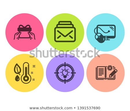 e-mail · mouse · mano · marcatore · trasparente - foto d'archivio © fuzzbones0