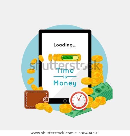 Gemakkelijk laden geld kaart creditcard reizen Stockfoto © jordanrusev