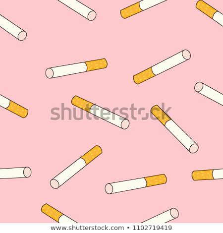 Discar cigarros relógio preto cor Foto stock © Alina12