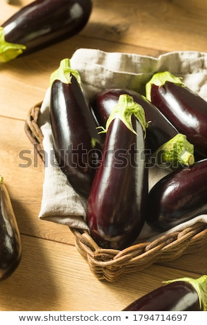 A bunch of eggplants Stock photo © tang90246