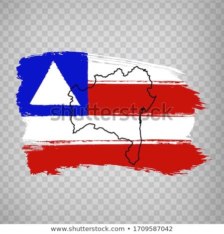 Map of Bahia Stock photo © rbiedermann
