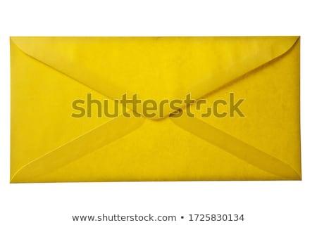 Yellow envelope Stock photo © kenishirotie