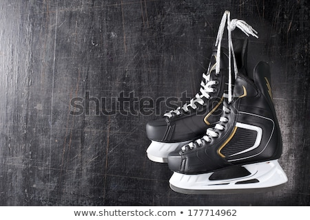 vintage pair of mens ice skates stock photo © olykaynen