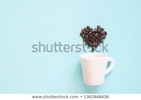 Ver mão grãos de café mais Foto stock © ozgur