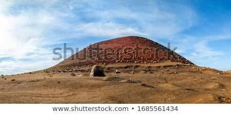 volcano Montana Colorada in Lanzarote, Tinajo   Stock photo © meinzahn