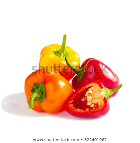 small bell peppers stock photo © klinker