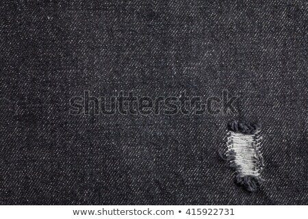 preto · jeans · brim · textura · real · ponto - foto stock © day908