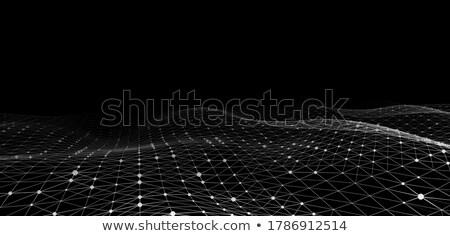 üçgen düşük karanlık vektör dizayn örnek Stok fotoğraf © SArts