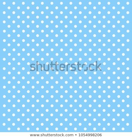 Mavi lekeli vektör renk duvar kağıdı model Stok fotoğraf © SArts