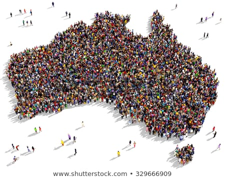 Oceania Population Stock photo © idesign